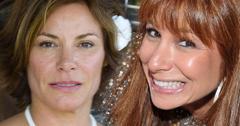Luann De Lesseps Wedding Tom DAgostino Jill Zarin Ruins Photos RHONY