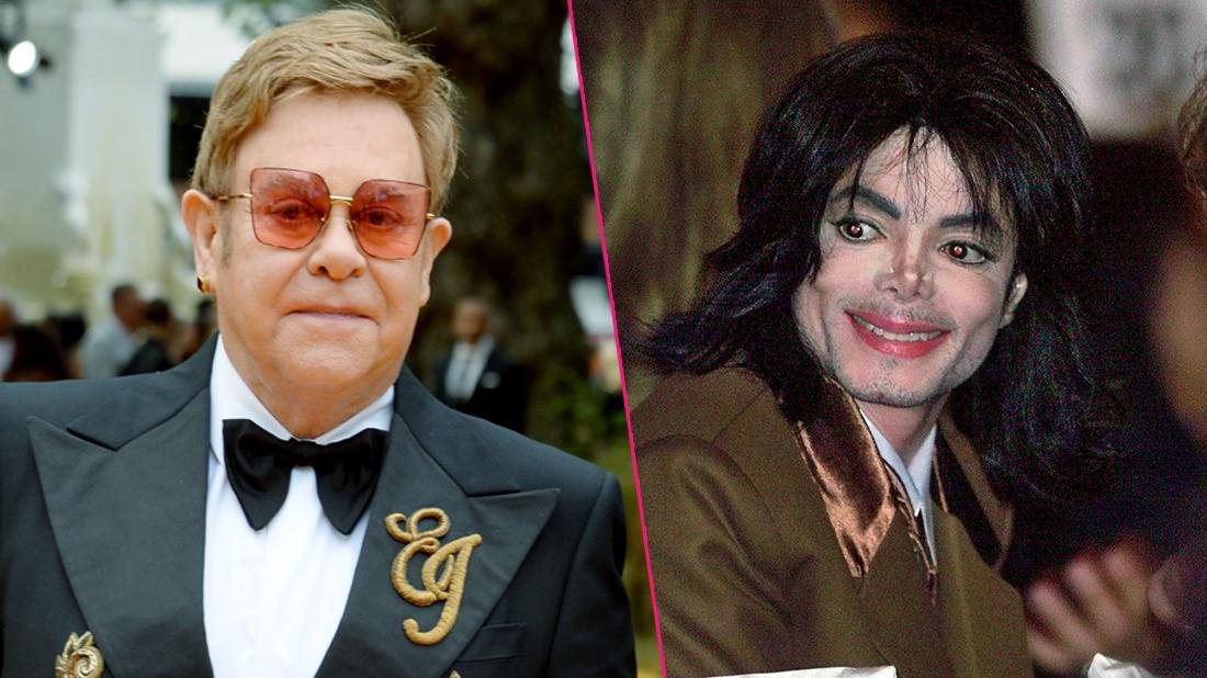 Elton John Reveals 'Ill' Michael Jackson Donned 'Makeup,' 'Plaster' On Nose During Bizarre Lunch