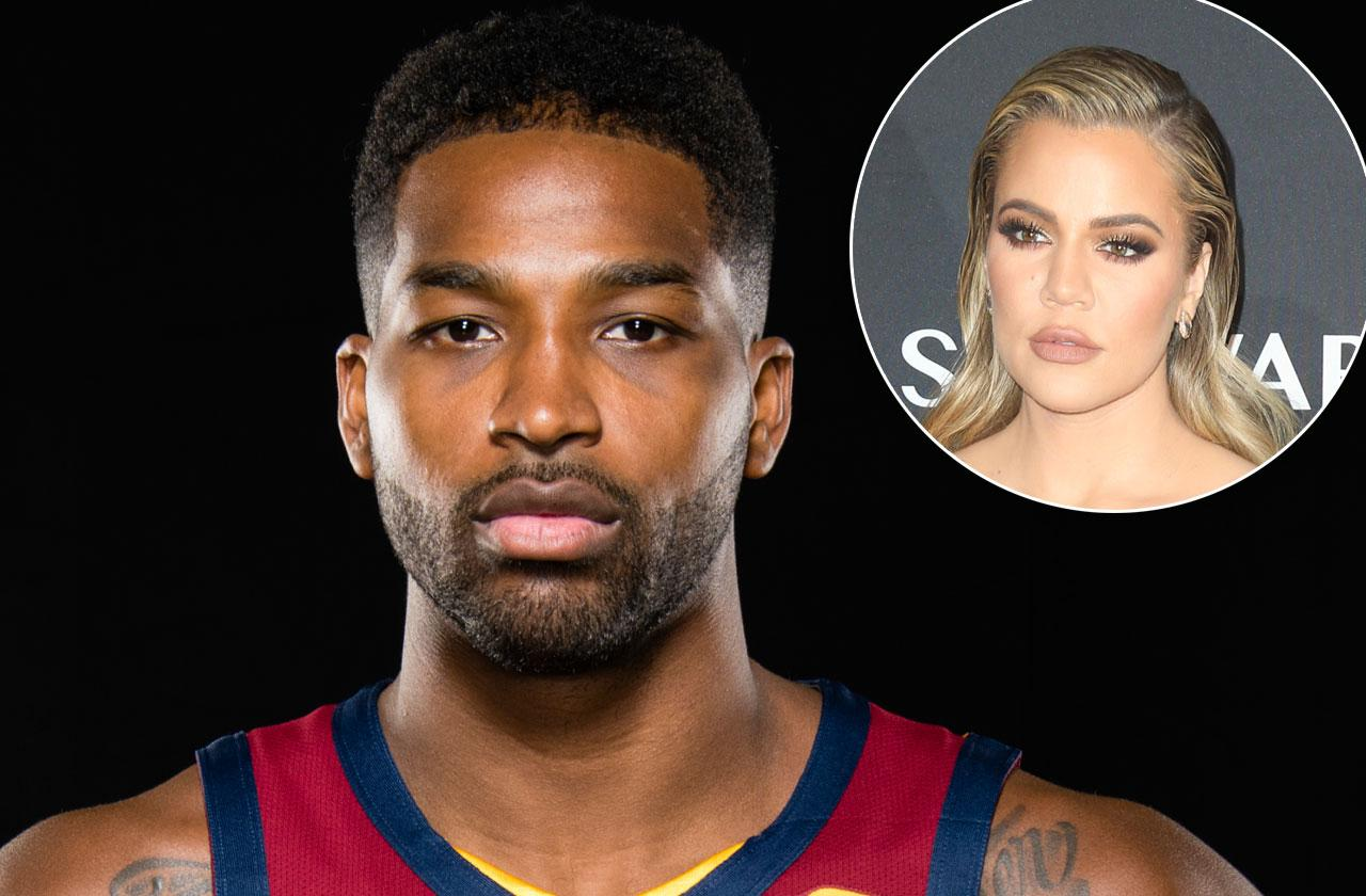 Tristan Thompson Mystery Woman PDA Cheating