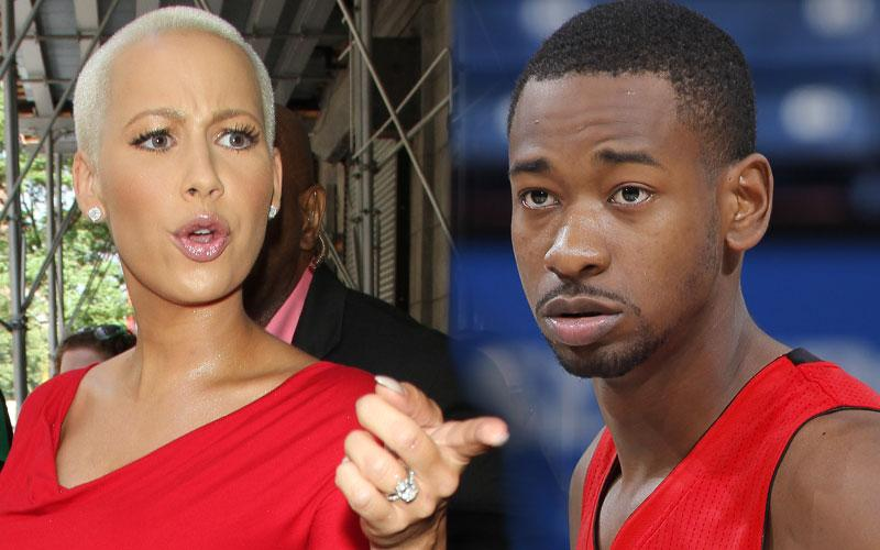 Amber Rose Boyfriend Terrence Ross Mother Arrested For Assault