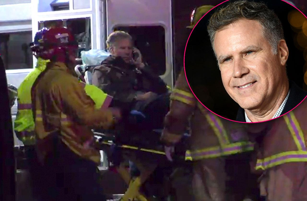 //will ferrell car accident aftermath caught on camera video PP