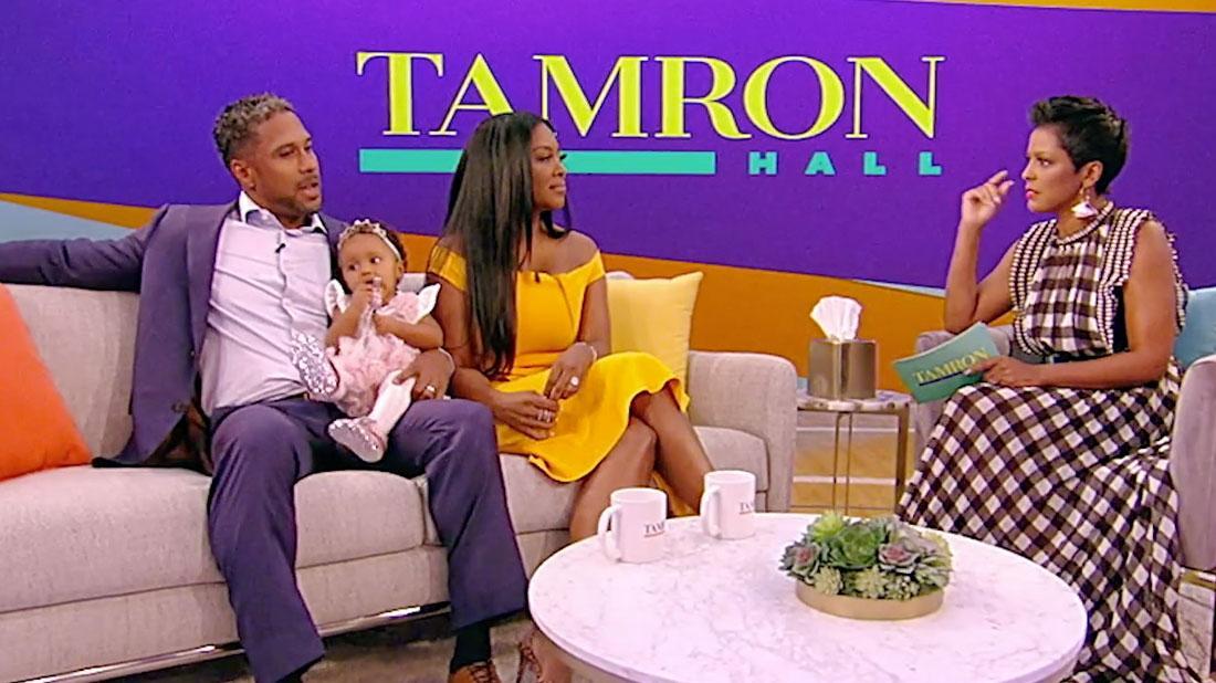 'RHOA' Diss! Kenya Moore's Hubby Brings Daughter On Tamron Hall Show