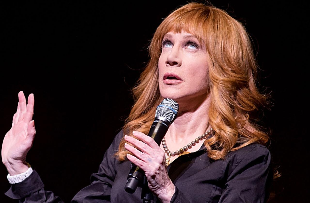 Kathy Griffin faints on stage health scare