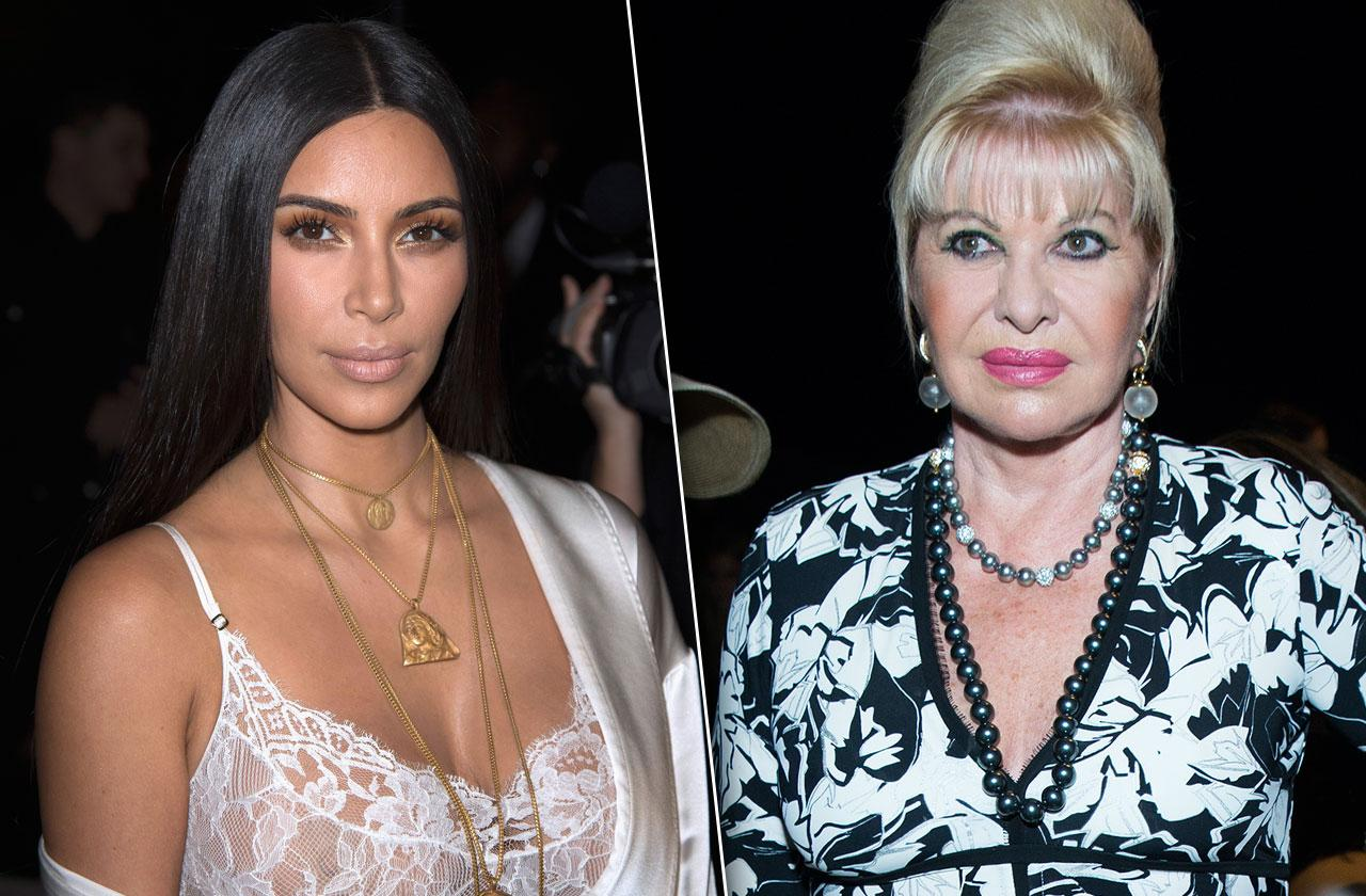 Ivana Trump Slams Kim Kardashian After Paris Robbery