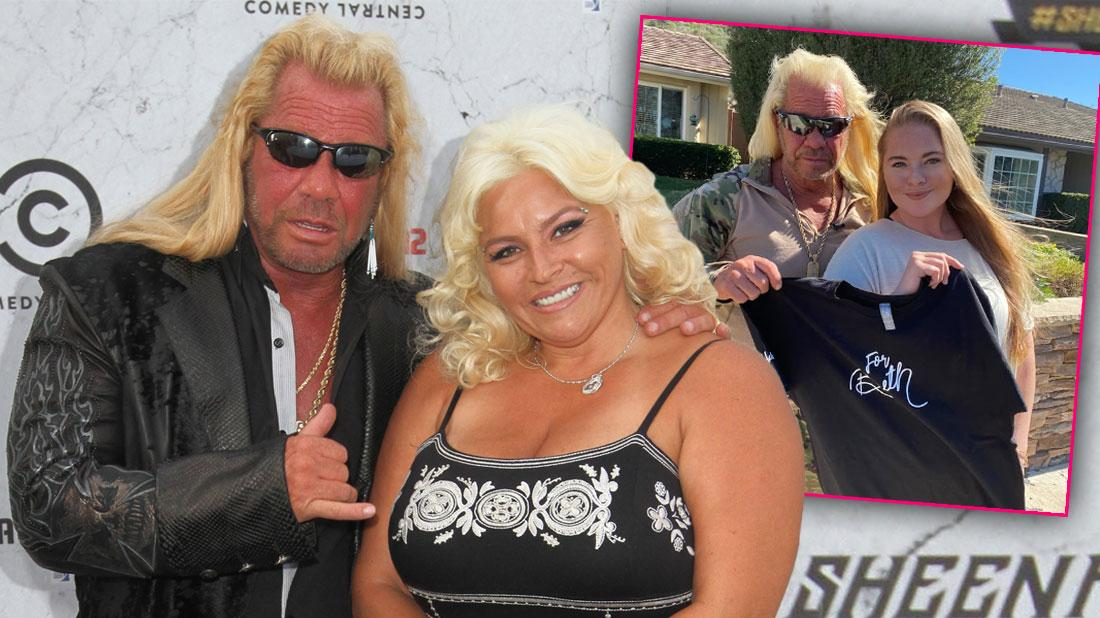 Duane Chapman Pays Tribute To Late Wife Beth With Shirt Designed In Her Honor