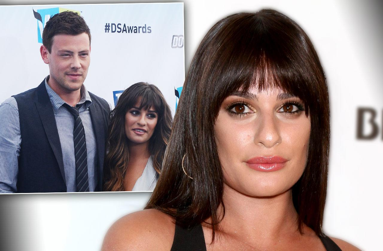 Lea Michele Tribute Cory Monteith 5 Years Death