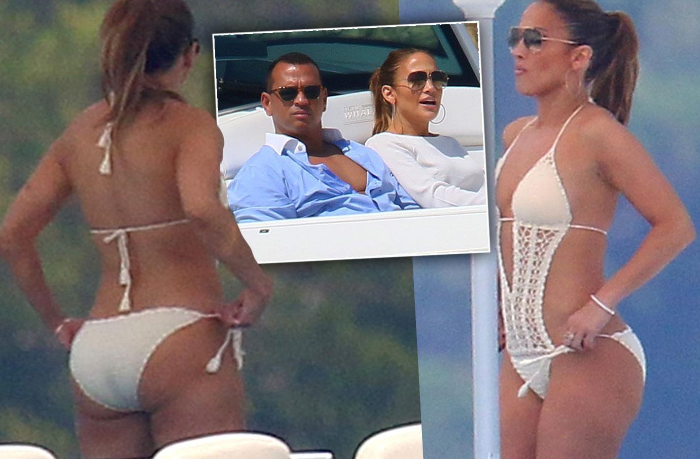 Jennifer Lopez Bikini Alex Rodriguez Paris Cheating Scandal