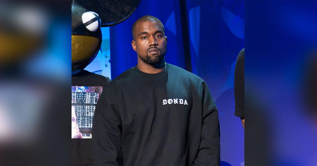 kanye west reaches deal to end lawsuit tech company mychannel stormed out jesus mask pp