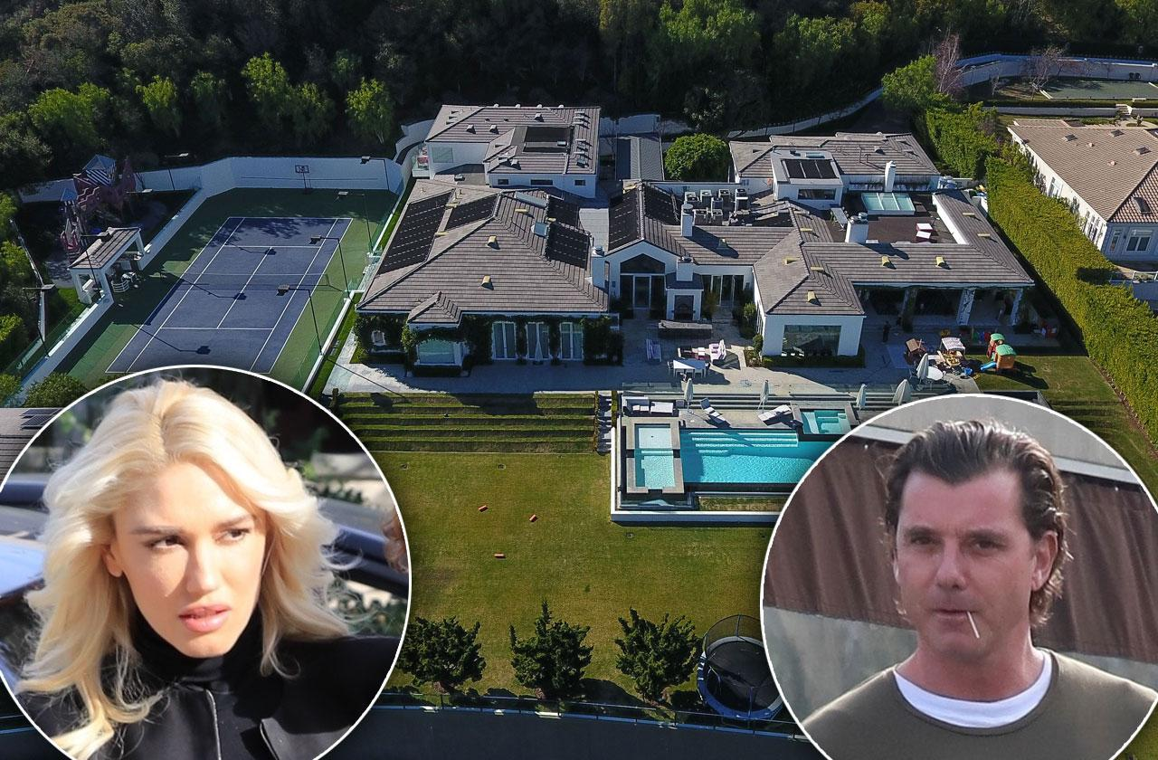 //gwen stefani mansion gavin rossdale cheat scandal pp