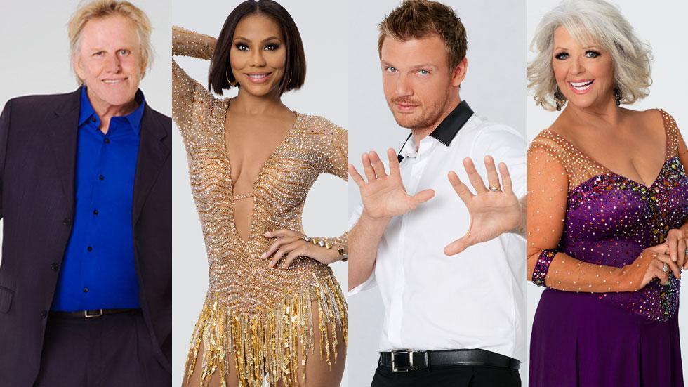 Dancing With The Stars Cast Secrets Scandals Tamar Braxton Gary Busey Paula Deen