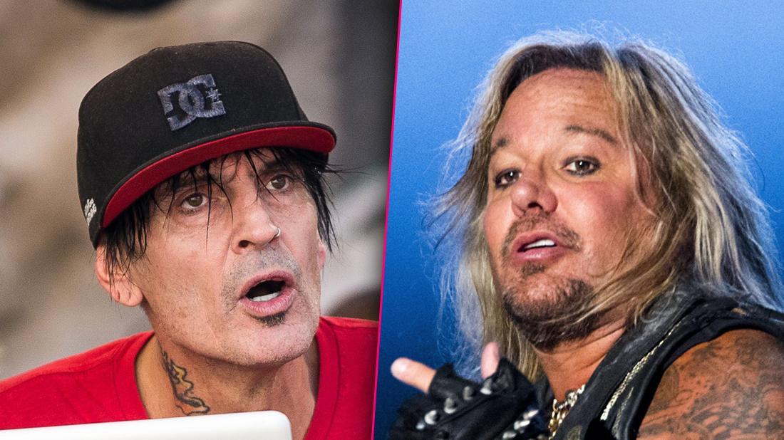 Rockers Vince Neil And Tommy Lee At War Over Who Needs Rehab Most