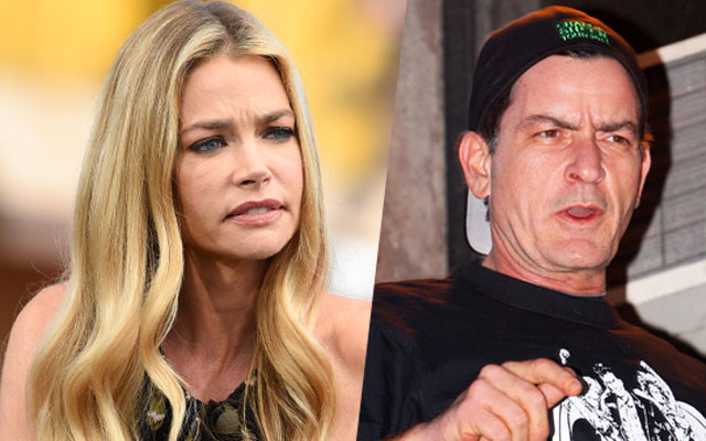 charlie sheen threatened denise richards