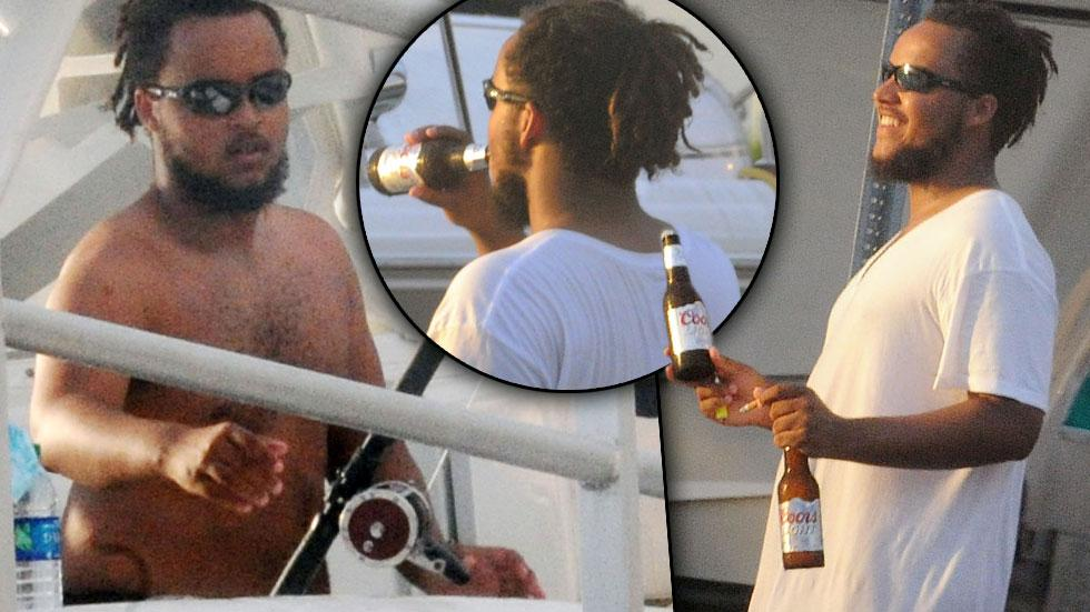 onnor Cruise & Caitlyn Jenner Feud Shirtless Fishing