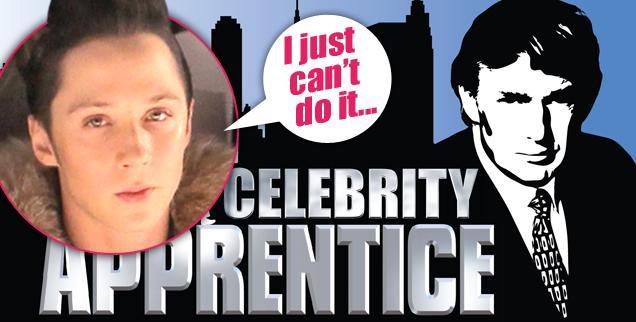 //johnny weir divorse celebrity apprentice nbc donald trump wide