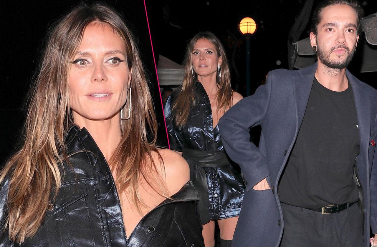 //heidi klum supermodel hollywood restaurant new man tom kaultiz pp