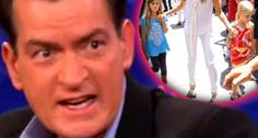 //charlie sheen not pay child support denise richards lola sam months sq
