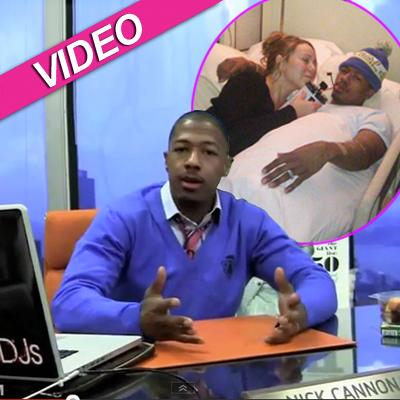 //nick cannon video post
