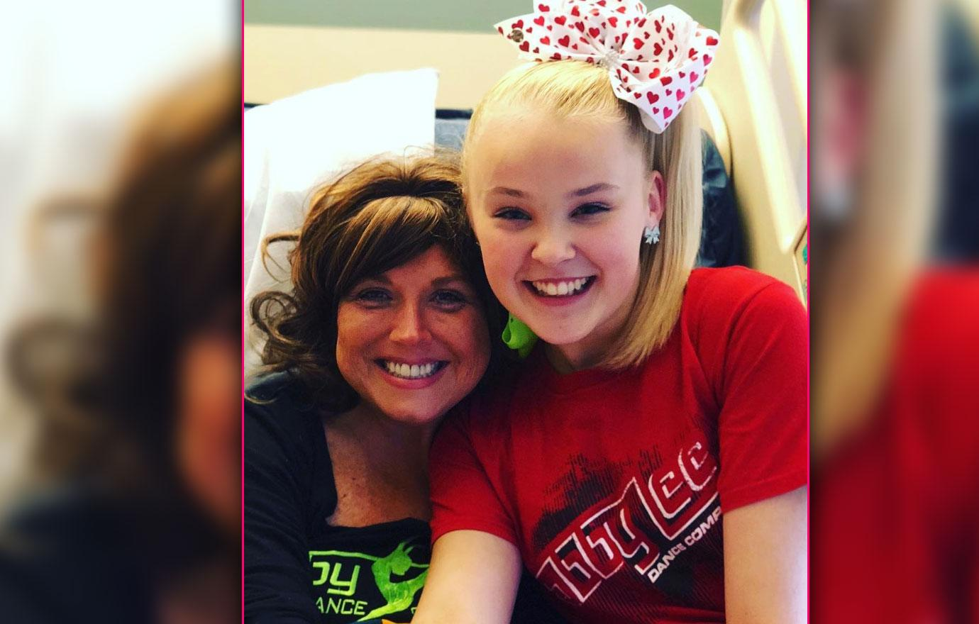 Cancer Stricken Abby Lee Miller Gets Hospital Visit Gifts From Jo Jo Siwa