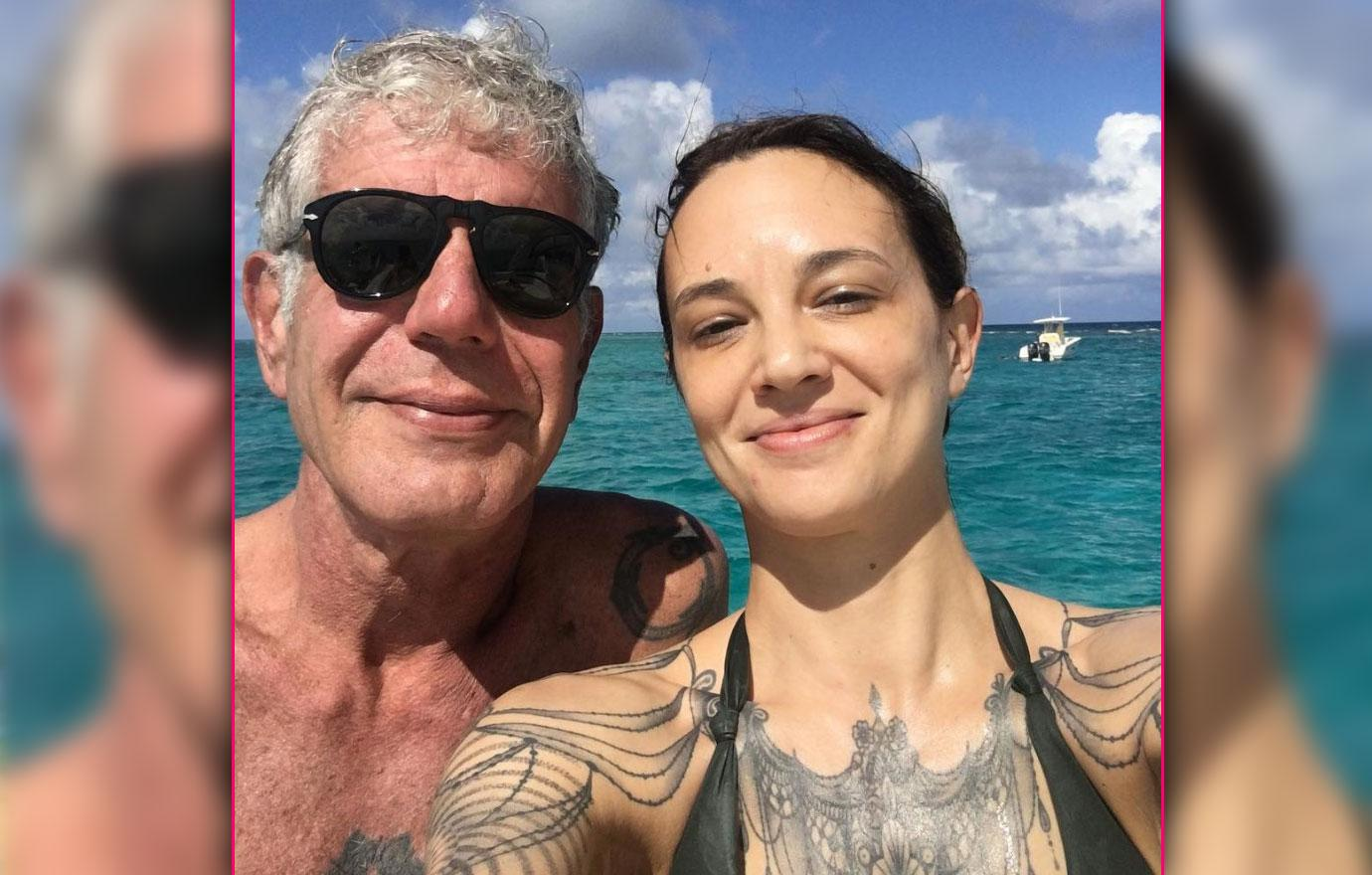 Asia Argento Cry For Help After Anthony Bourdain Suicide
