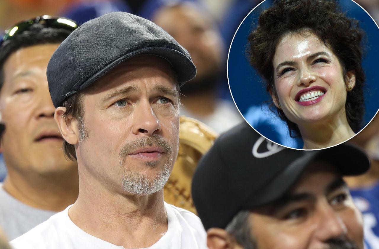 Brad Pitt Crush Neri Oxman Engaged