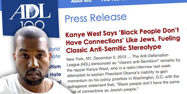 //kanye west adl blasts anti semitic comments black jewish wide