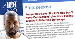 //kanye west adl blasts anti semitic comments black jewish wide