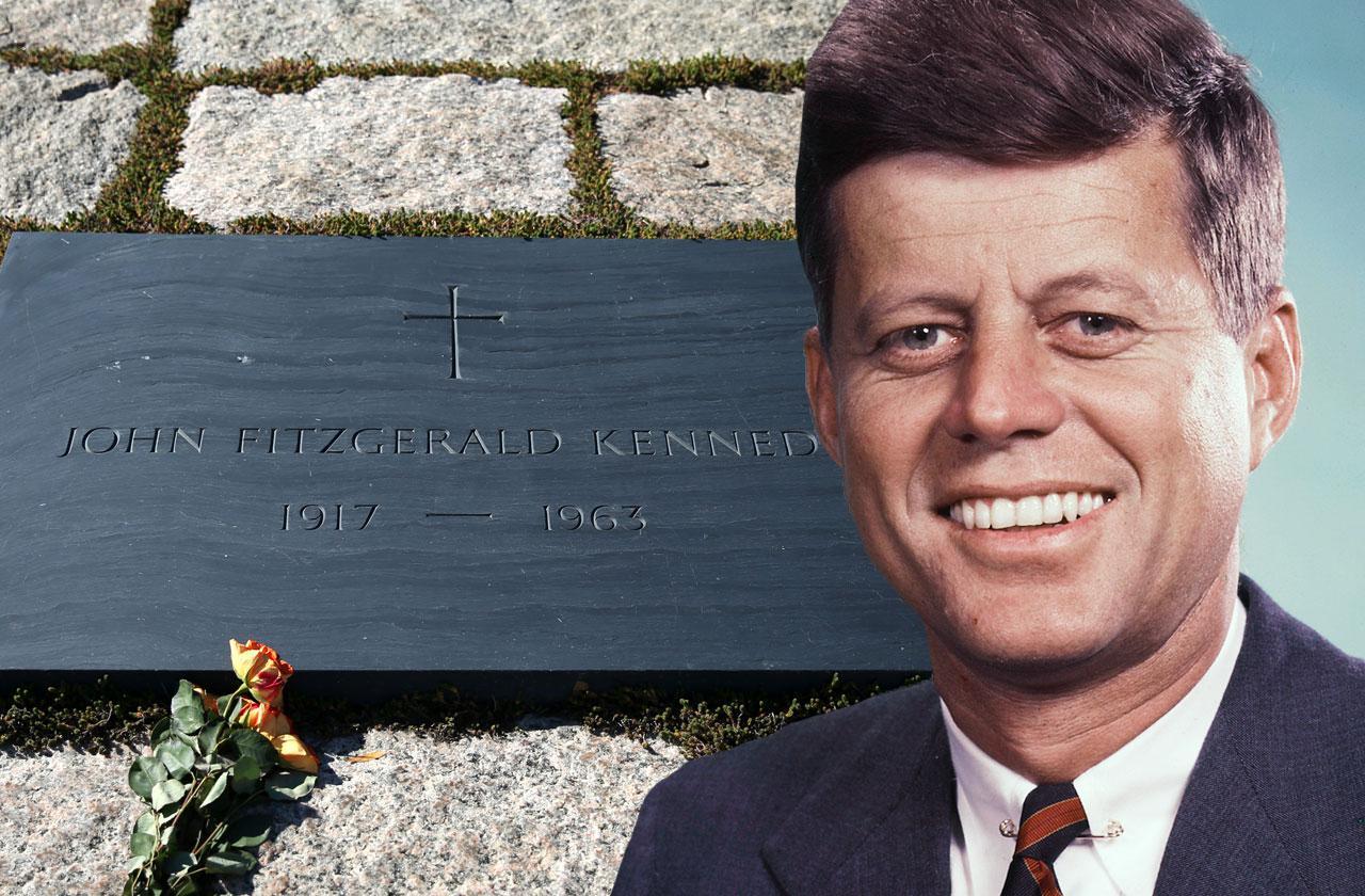 //john f kennedy buried beside nazi sympathizer pp