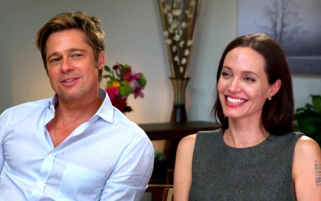 Angelina Jolie Brad Pitt Joint Interview Surgery
