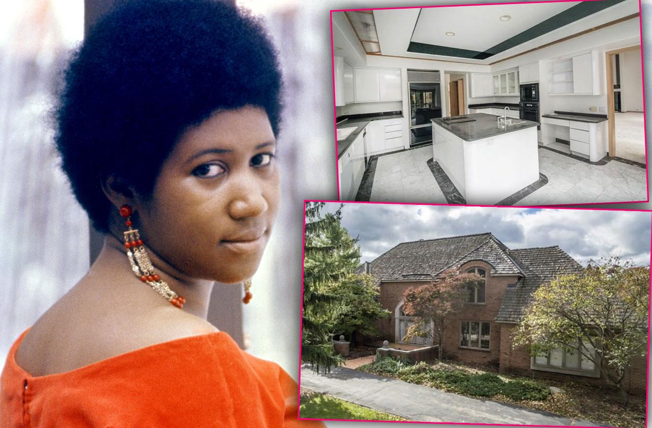Aretha Franklin Home Sale Bloomfield Hills Michigan