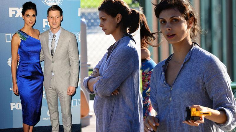 //gotham morena baccarin pregnant baby bump photos pp