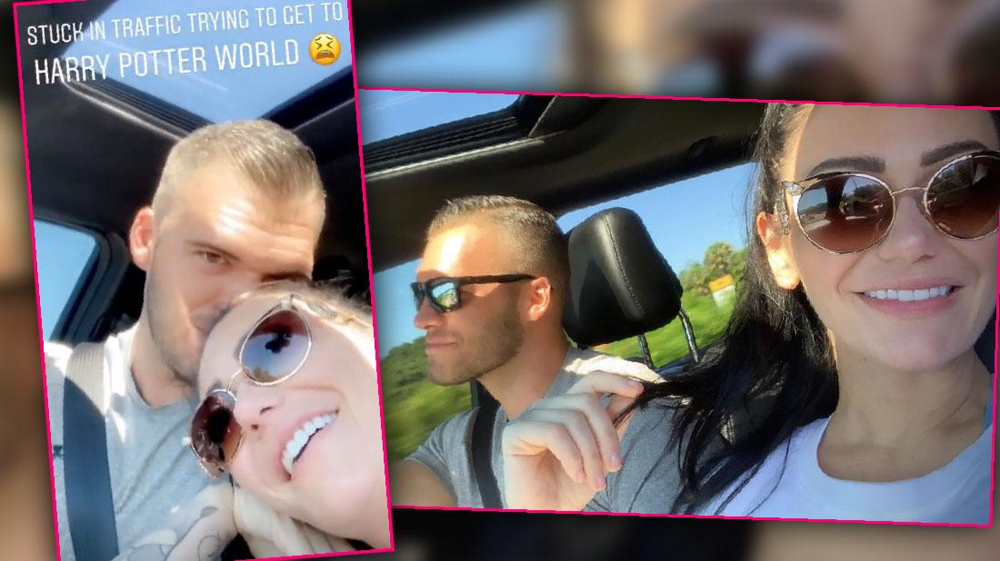 JWoww Shows Off New Boyfriend On Universal Studios Date