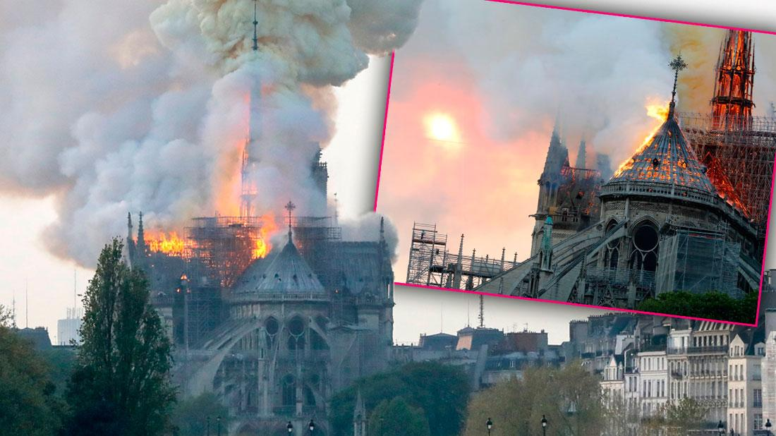 Notre Dame Cathedral Collapsing Amid 'Terrible' Fire