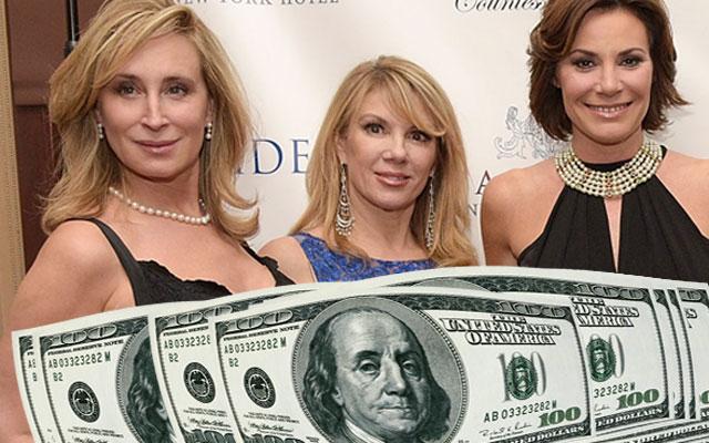 'RHONY' Cast Drama: Sonja Morgan, Ramona Singer, Luann De Lesseps Demand More Money