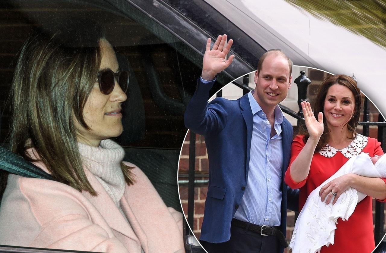 //Pippa Middleton Visits Royal Nephew pp