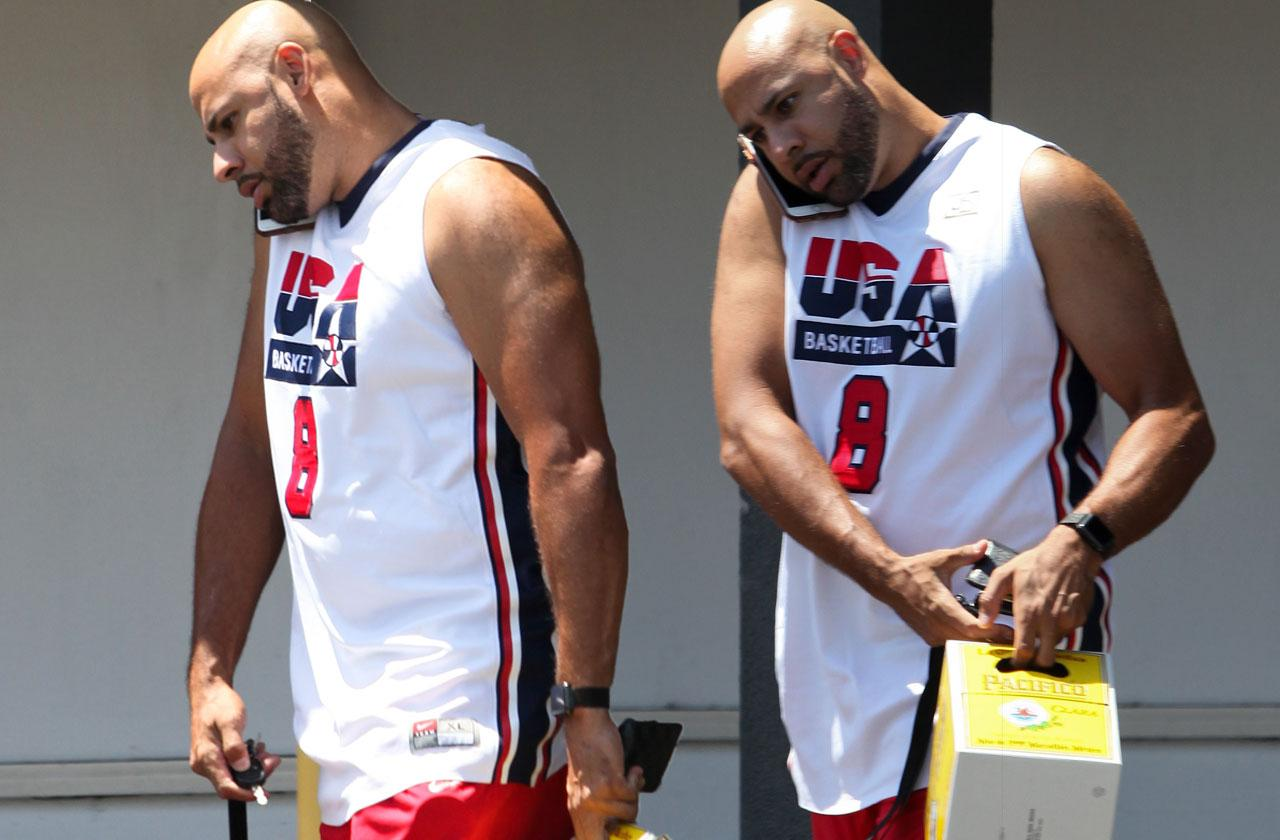 Hank Baskett Buying Booze Divorce