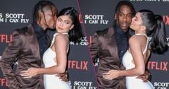 Travis Scott and Kylie Jenner attend 'Travis Scott: Look Mom I Can Fly' film premiere,
