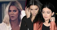 Khloe Kardashian Looking Right Split With Kendall Jenner And Kylie Jenner