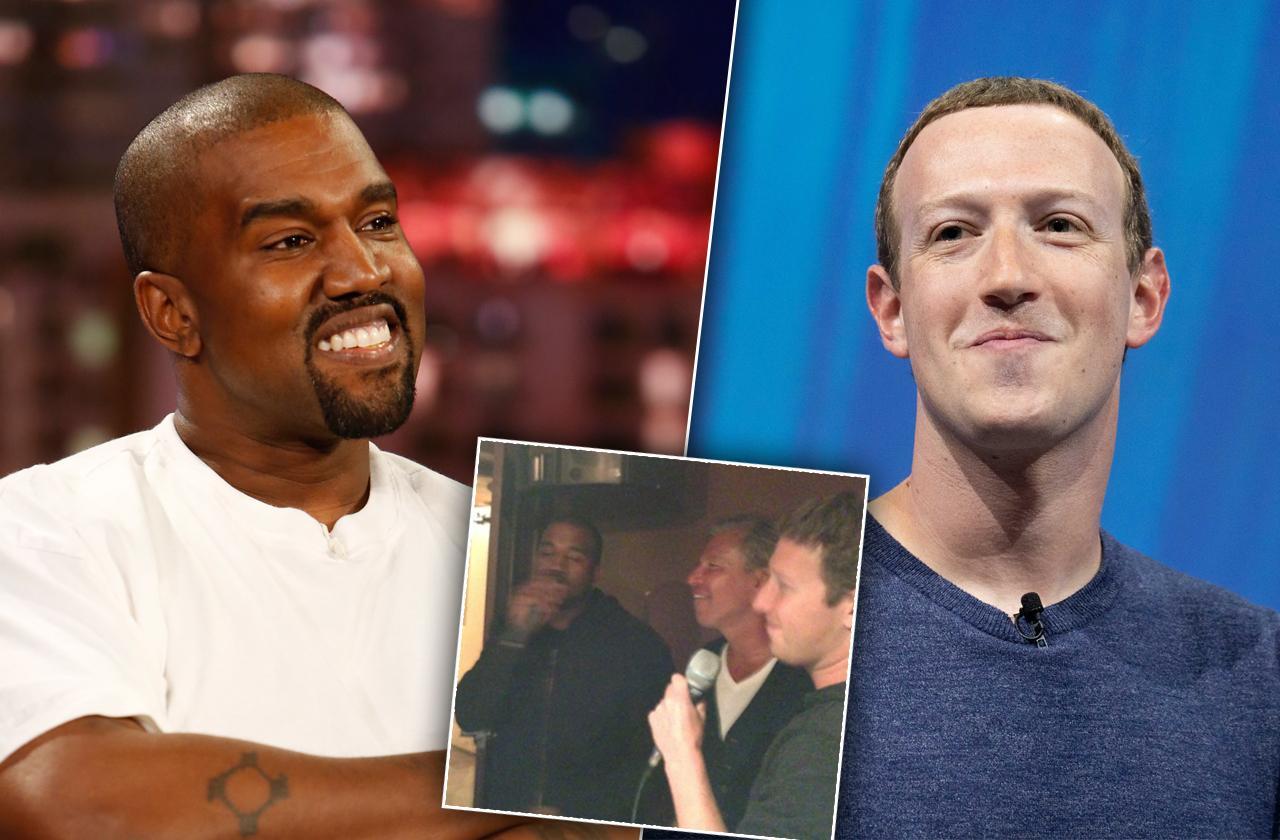 Kanye West Mark Zuckerberg Karaoke Backstreet Boys