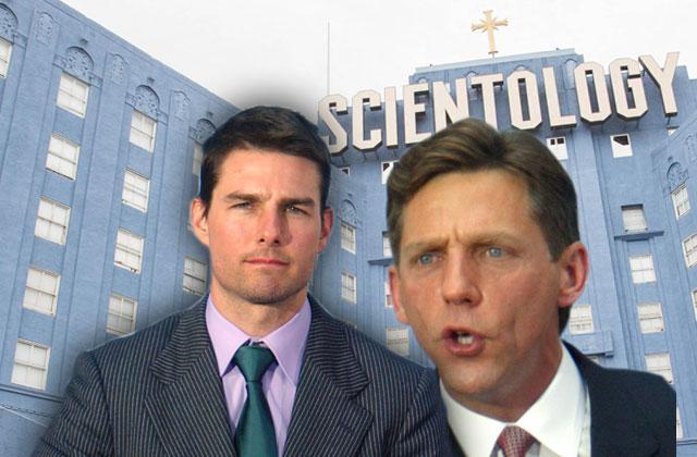 Scientologists David Miscavige & Tom Cruise