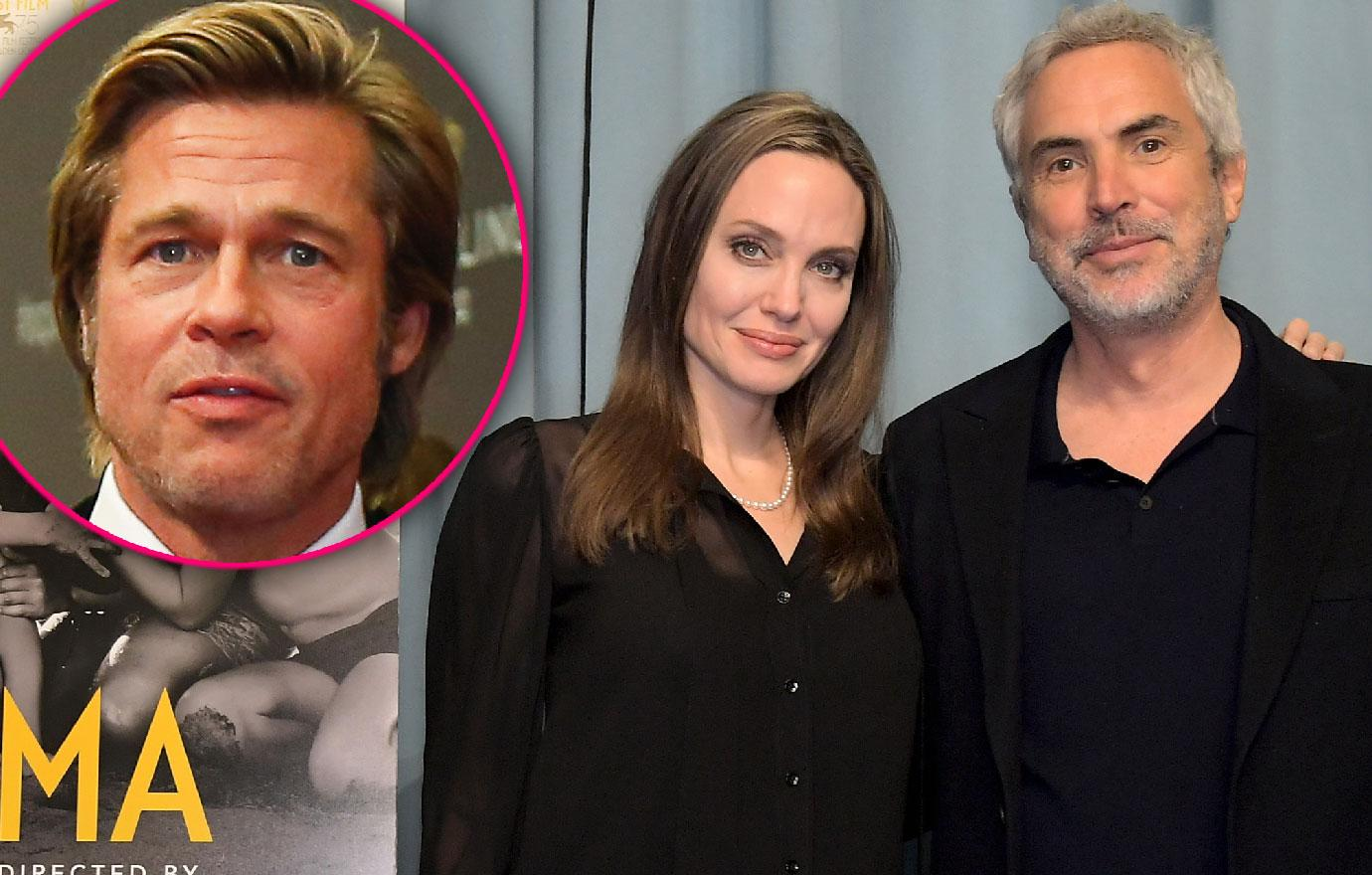 Angelina Jolie And Alfonso Cuaron Attend Roma Screening
