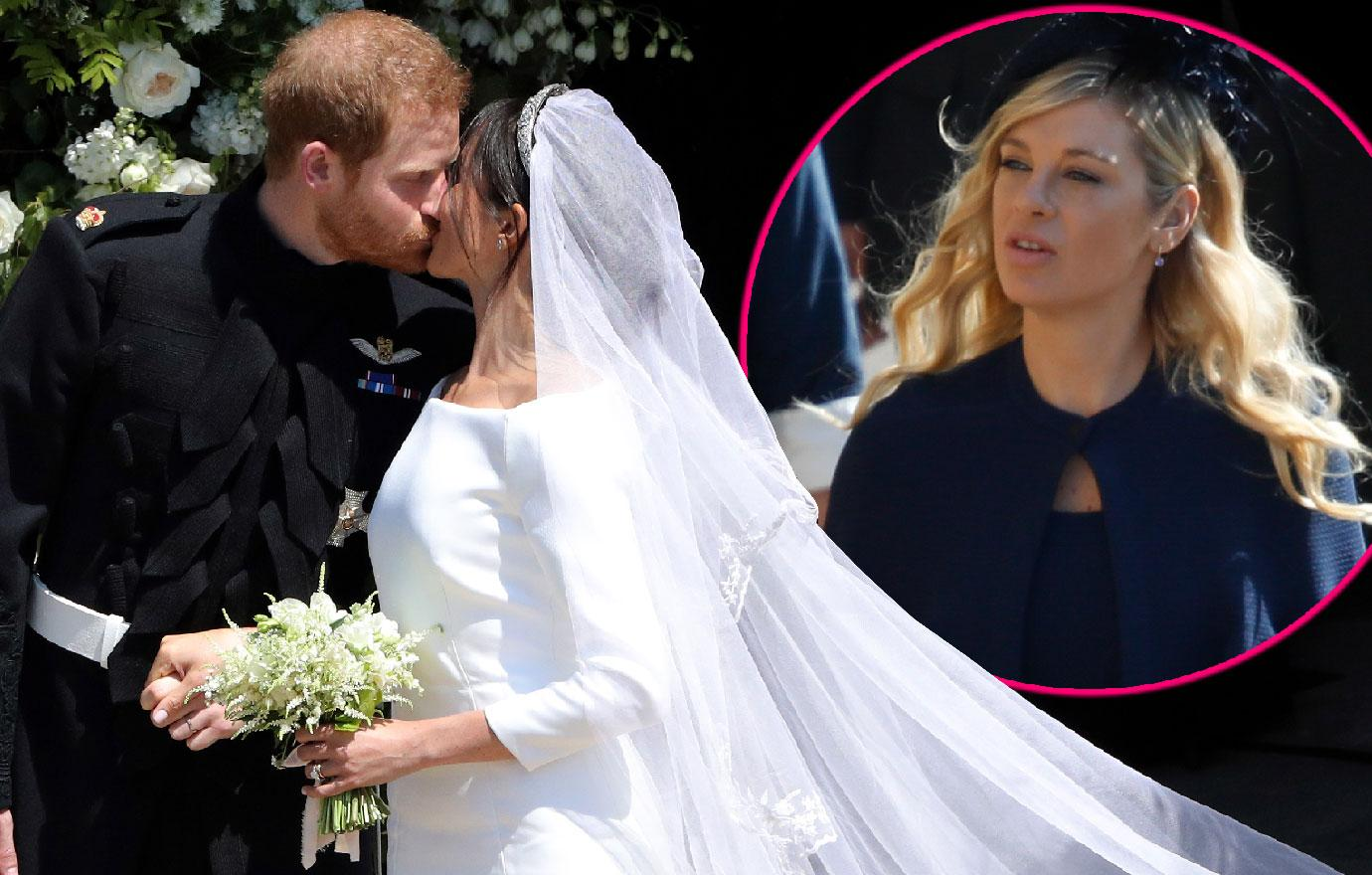 Prince Harry Ex Chelsy Davy Should Have Been Me Look At Royal Wedding