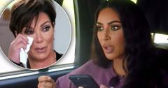 Kim Kardashian's Security Tackles Kris Jenner In 'KUWTK' Teaser