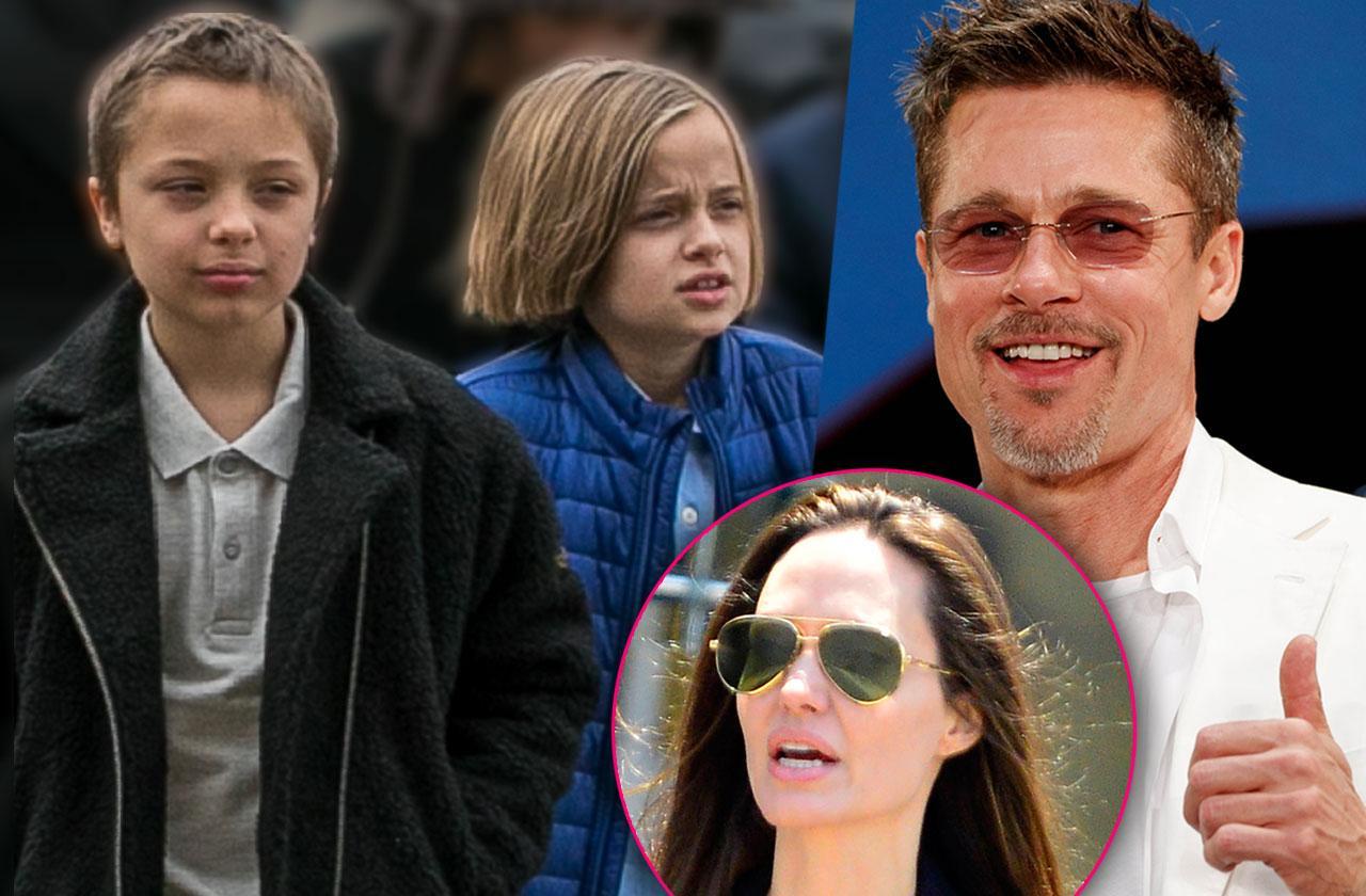 Brad Pitt Birthday Knox Jolie Pitt & Vivienne Jolie Pitt