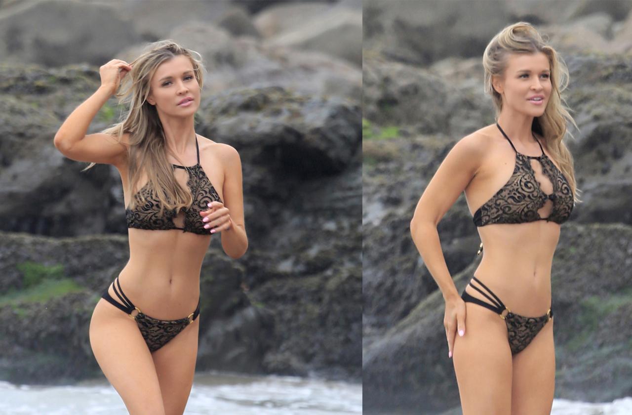 Joanna Krupa Flaunts Body In Bikini