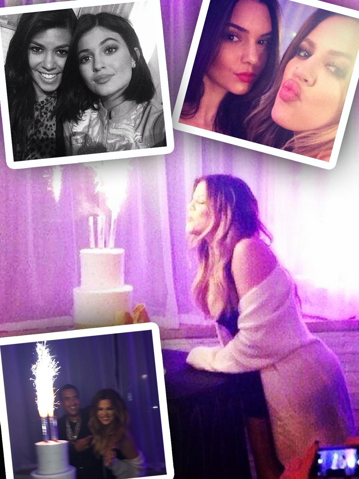 //khloe kardashian birthday instagram