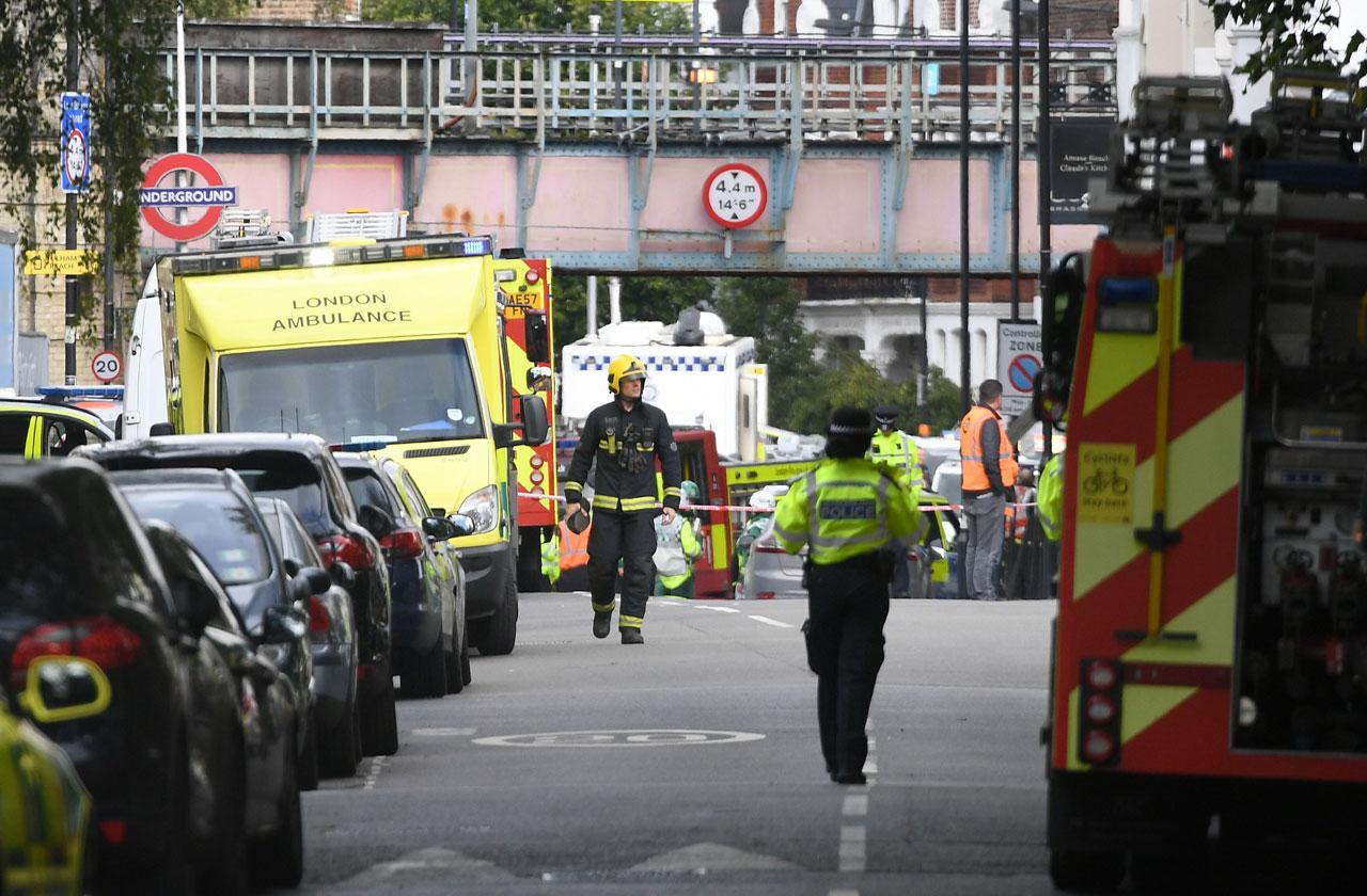 London Subway Bomb terrorist Attack