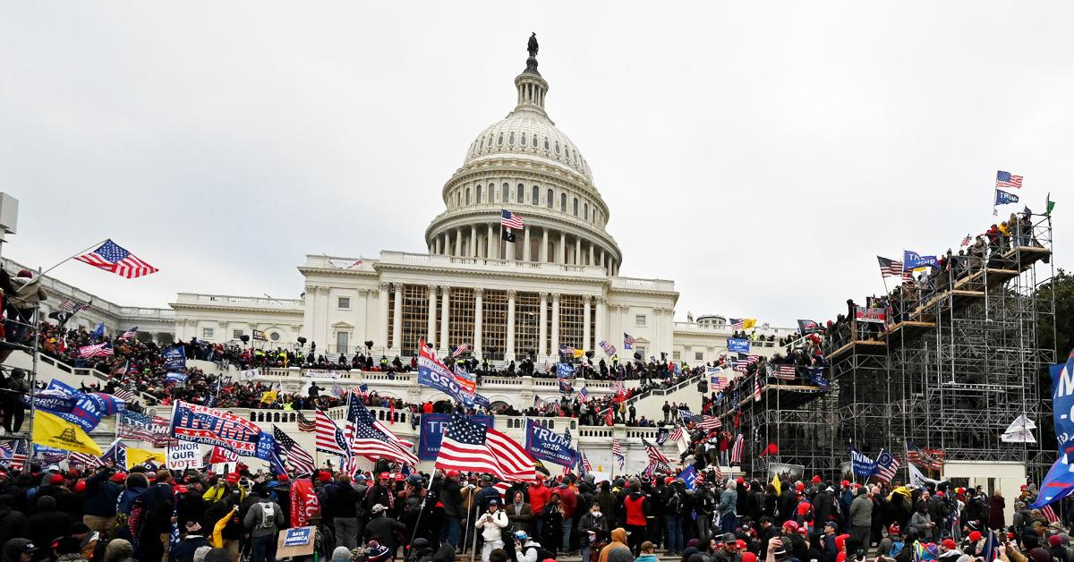organizers january  attack protest meetings congress members white house staff pp
