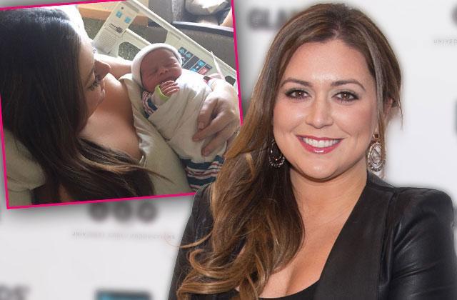//lauren manzo gives birth daughter markie rhonj pp