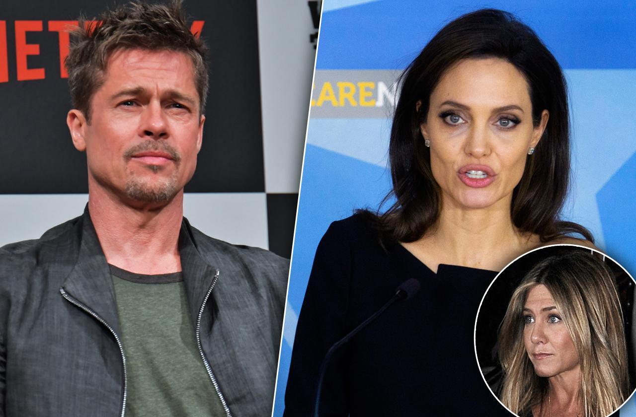 Brad Pitt Vows Never Ever Marry Again Angelina Jolie Divorce