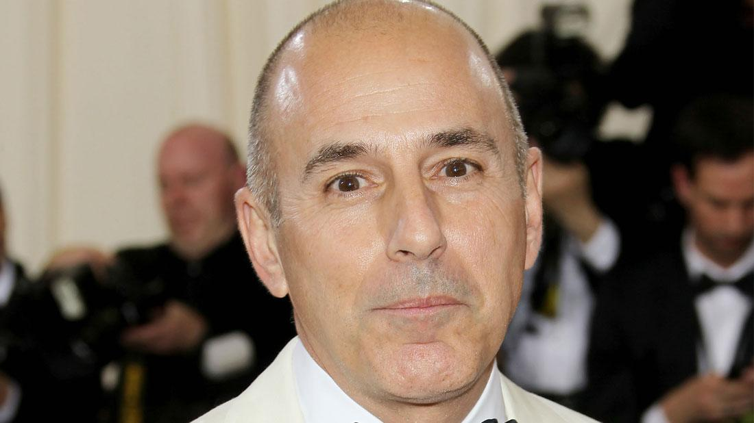 Matt Lauer Allegedly Exposed Himself To 'Today Show' Producer